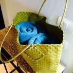 Beach Towel and Basket