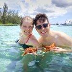 Enjoying Star Fish Point!