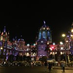 All decked up at night