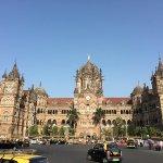 Mumbai taxis near CST station