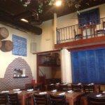 Interior shot of restaurant