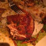 Avocado eggs rolls, Cashew Chicken & Thai Salmon@Cheesecake Topanga