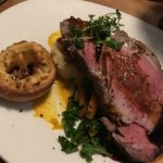 Fantastic Prime rib roast dinner @Brewbakers. Dinner special not a regular menu item