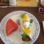 Ein Burrito zum Frühstück