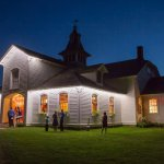 Carriage Barn at Night