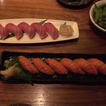 Bigeye Toro from Japan, King Salmon from New Zealand