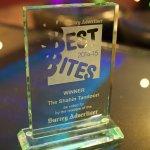 Best Bites Winner Trophy