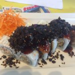 Ika sushi dish