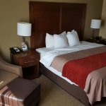 King room is awesome! Nicely decorated and quiet! Under $100 for the night. Close to dining and
