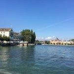 Blick zum Rheinausfluss