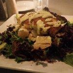 Citrus Crabcake Salad