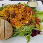 A hearty salad