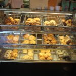 Fresh bagels baked each day, and restocked regularly! Enjoy them warm, right out of the oven!