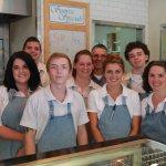 The friendly team at Sunrise Bagels Beaverton!