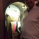 Our host and his beautiful bullfighting costume.