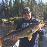 Last cast of the season! Wow! 31 1/2 inch Walleye!! Congrats Master Angler Gary