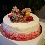 The cake is delicious and it is not too sweet. It is the prefect cake for those who does like sw