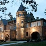 The Bass Mansion, called Brookside, is one of the tip-top most amazingly restored elegant homes/