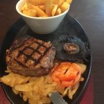 5oz Steak and Chips