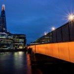 London Bridge and the Shard taken with Simon