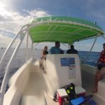 The Whale Shark Tour boat