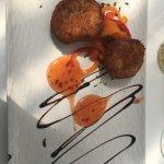 Thai Ginger Fish Cakes - my starter