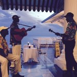 "Bar/Lobby acoustic mento group "":Black Djhango & Friends"""