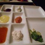 Variety marinades.