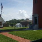Yard of Ponce De Leon Lighthouse Museum