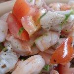 Seafood cebiche