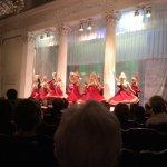 Bailarinas de folclore russo