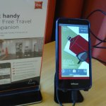 A pleasant surprise, a smartphone you can use during your stay