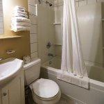 Blindingly clean bathroom
