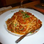 Spaghetti Bolognese was the best