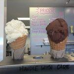On a warm Yamba day, You can't go past Yamba Ice-cream Yum