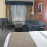 Very Nice King Size Room with Sitting Area, Best Westeren Desert Villa Inn, Barstow, CA
