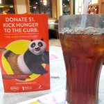 Ice Tea, Denny's, Barstow, CA