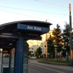 The bus stop to reach to hotel.from here its walkable