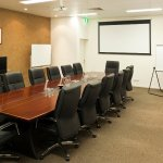 Executive style meeting room