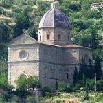 Cortona: Una chiesa molto toscana!