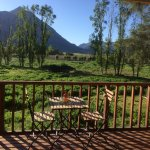 Our terrace at honeymoon suite overlooking Zebras, Antilopes..
