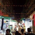 Temple Street Nigh Market, shops