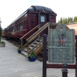 Dining Car at Lake Louise Station Restaurant (which was the old station, now amazingly refurbish