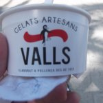 Tub of ice cream