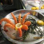 Sea food arrangement