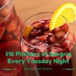 Tuesday Night is Samgria Night!