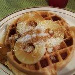 Hawaiian Belgian Waffle.