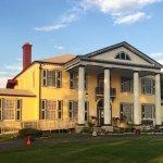 View from the parking lot.