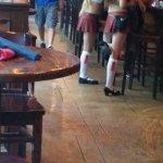The Tilted Kilt waitresses