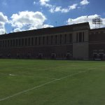 """The """"old"""" side of the stadium"""